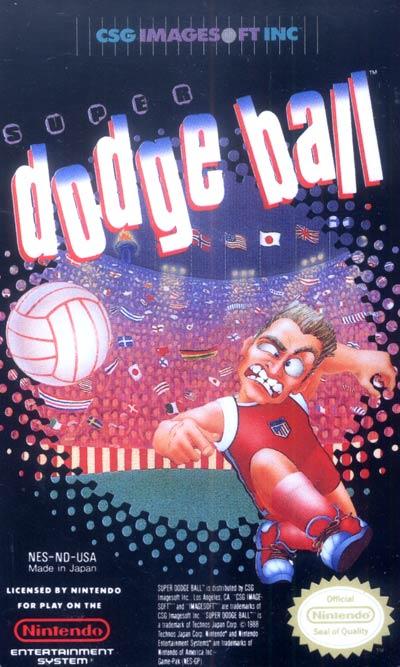 Super Dodge Ball cover