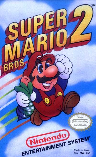 Super Mario Bros 2 Usa Version Nes Ninja