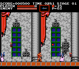 "Castlevania  <span class=""label"">USA</span> <span class=""label"">Program revision 0</span> <span title=""Most recent translation"" class=""label label-info"">Spanish 100% Tanero</span>  - Screenshot 2/4"