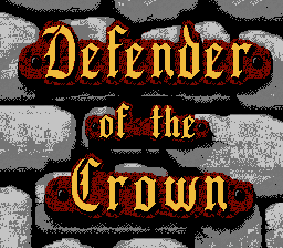 Defender of the Crown - Screenshot 1/4