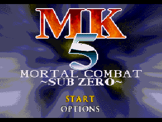 MK 5 - Mortal Combat - SubZero - Screenshot 1/5