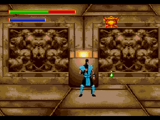 MK 5 - Mortal Combat - SubZero - Screenshot 2/5