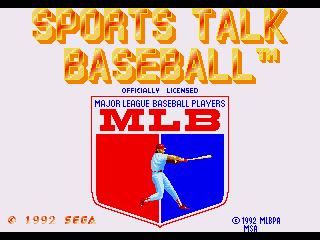 MLBPA Sports Talk Baseball - Screenshot 1/5