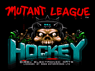 Mutant League Hockey - Screenshot 1/5