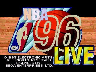NBA Live 96 - Screenshot 1/5