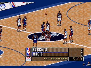 NBA Live 96 - Screenshot 2/5