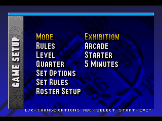 NBA Live 96 - Screenshot 3/5
