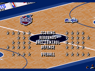 NBA Live 96 - Screenshot 4/5