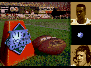 NFL Quarterback Club 96 - Screenshot 1/5