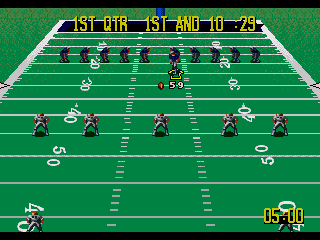 NFL Quarterback Club 96 - Screenshot 2/5