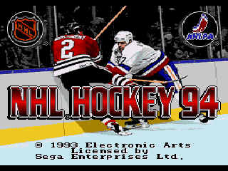 NHL 94 - Screenshot 1/5