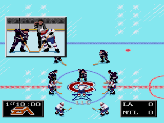 NHL 94 - Screenshot 2/5