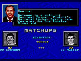 NHL 94 - Screenshot 4/5