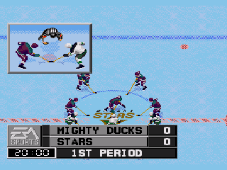 NHL 98 - Screenshot 2/5