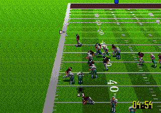 NFL Quarterback Club 96 - Screenshot 5/5