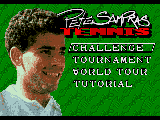 Pete Sampras Tennis - Screenshot 1/5