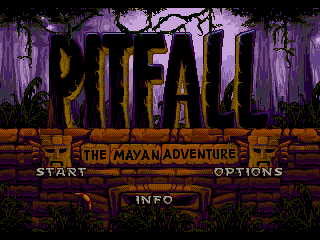 Pitfall - The Mayan Adventure - Screenshot 1/5
