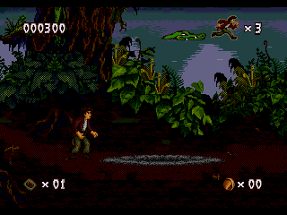 Pitfall - The Mayan Adventure - Screenshot 3/5