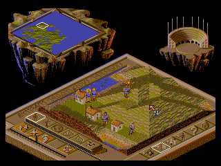 Populous II - Two Tribes - Screenshot 2/5