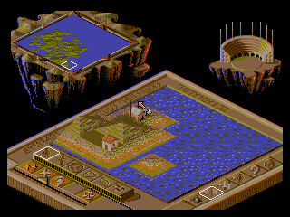 Populous II - Two Tribes - Screenshot 4/5