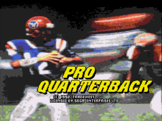 Pro Quarterback - Screenshot 1/5