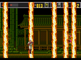 Revenge of Shinobi, The - Screenshot 4/5