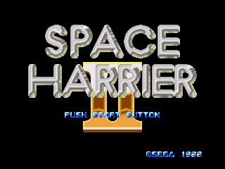Space Harrier II - Screenshot 1/5