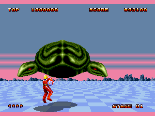 Space Harrier II - Screenshot 2/5