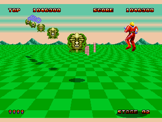 Space Harrier II - Screenshot 4/5