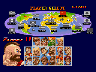 Super Street Fighter II - The New Challengers - Screenshot 2/4