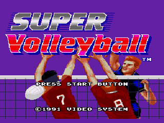 Super Volleyball - Screenshot 1/4