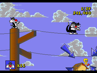 Sylvester & Tweety in Cagey Capers - Screenshot 4/5