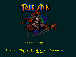 Tale Spin - Screenshot 1/4