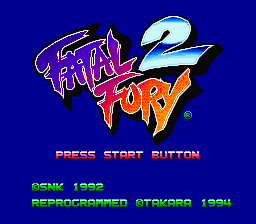 Fatal Fury 2 - Screenshot 1/7