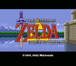 Legend of Zelda, The - A Link to the Past - Screenshot 1/8