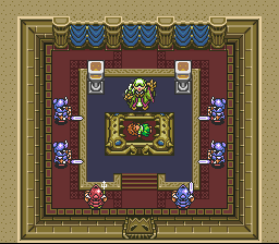 Legend of Zelda, The - A Link to the Past - Screenshot 3/8