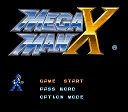 Mega Man X Nes Ninja