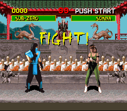 Mortal Kombat (Blood Patch Hack) » NES Ninja