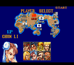 Street Fighter II - The World Warrior - Screenshot 3/6