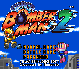 Super Bomberman 2 - Screenshot 1/12