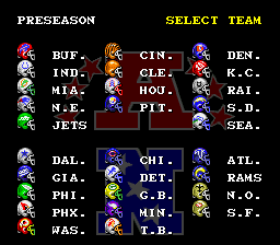Tecmo Super Bowl - Screenshot 3/4