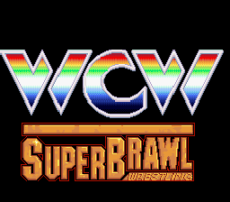 WCW Super Brawl Wrestling - Screenshot 1/4