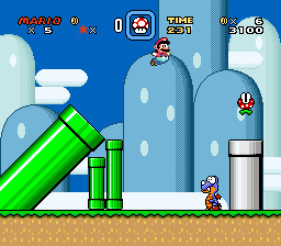 Mario Legends I - Elemental Quest  (SMW1 Hack) - Screenshot 2/3